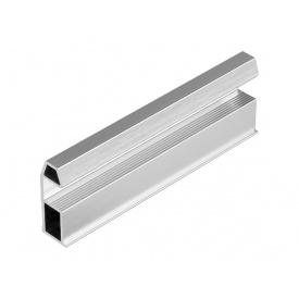 Профиль вертикальный Slider AIR серебро браш