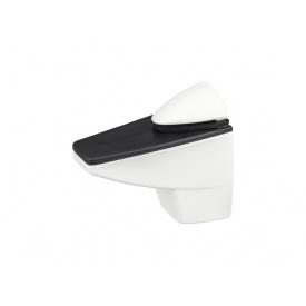 Кріплення для скляній полиці GIFF Сamelar L55 білий