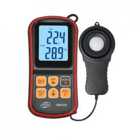 Люксметр + термометр Bluetooth 200000 Lux BENETECH GM1030