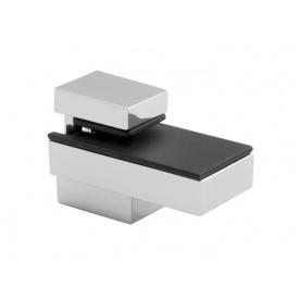 Кріплення для скляній полиці GIFF Quadro mini сатин