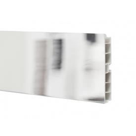 Цокольна Планка Volpato мм 4000 мм 100 дзеркальний хром