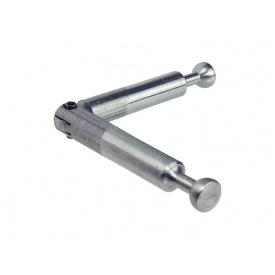 Болт двойной подвижный стяжки Minifix HAFELE 24мм D=68 оцинкованная сталь 262.12.859