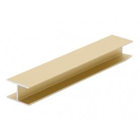 Соединительный профиль Slider золото мм 5000