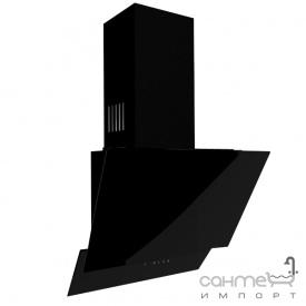 Пристінна кухонна витяжка Fabiano Premium Prisma-A 60 Black чорне скло