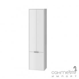 Пенал для ванной комнаты подвесной Ювента Sofia 170 c корзиной для белья белый