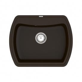 Кухонная Мойка Vankor Norton Nmp 01.63 Chocolate + Сифон Vankor