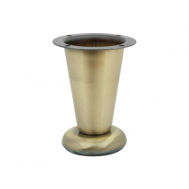 Опора регулируемая коническая GIFF NZ0905 мм 100 античная бронза