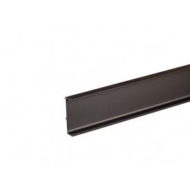 Профиль Gola L-образный универсальный Volpato Clap`n`FIT мм 4200 венге браш 80/G38