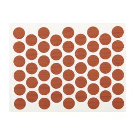 Заглушка конфирмата самоклеющаяся Weiss d=14 вишня 50 шт 7061