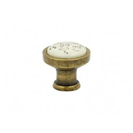 Ручка кнопка Virno Azure 103R MLC A11 бронза