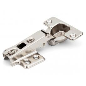 Петля накладная с усиленной монтажной планкой Slide-on GIFF Т1 d=35 мм 0 никель