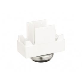 Опора регулируемая малая пластик Volpato Stili мм 29 белая