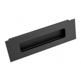 Ручка врізна Virno Lines 412/160 чорний