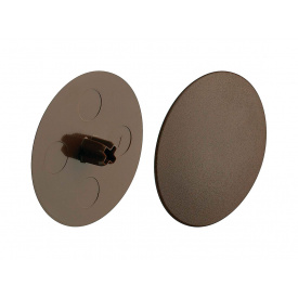 Заглушка стяжки MAXIFIX HAFELE D39 пластик коричневый 262.87.190