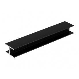 Соединительный профиль Slider мм 5000 черный матовый