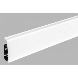 Плінтус підлоговий Arbiton INDO 01 Білий блиск