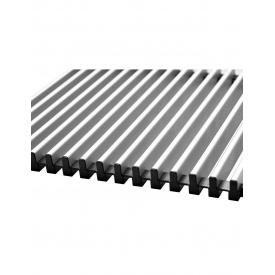 Алюмінієва решітка Hi-tech для конвекторів Carrera З Inox/Black 90/120. 230.1000