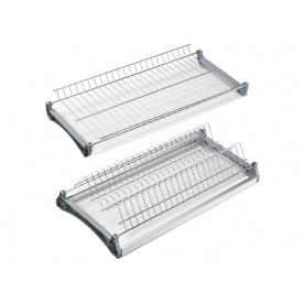 Посудосушитель фасад 800 REJS хром 2 полиці 2 піддона 1 рамка і 4 кріплення