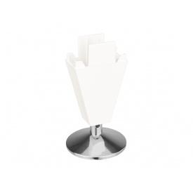 Опора регулируемая пластик Volpato Stili мм 90 белый матовый