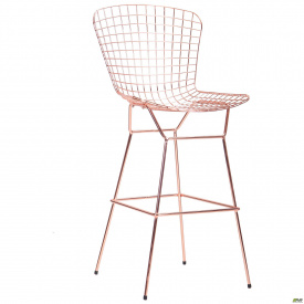 Барный стул Todi, rose gold