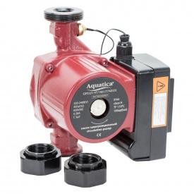 Насос циркуляционный с термодатчиком Aquatica 100Вт Hmax 6м Qmax 75л/мин O1 130мм + гайки O