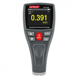 Прибор для измерения толщины краски (толщиномер) Fe 0-1800мкм WINTACT WT2100