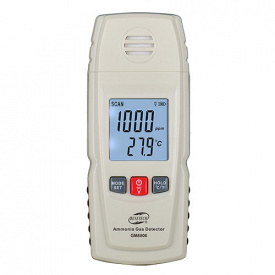 Газоанализатор аммиака NH3+термометр (0-100 ppm 0-50 градусов Цельсия) BENETECH GM8806