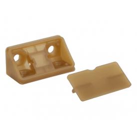 Куточок меблевий подвійний пластиковий GIFF бук баварія