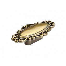 Ручка кнопка Virno Style Antique 280 античная бронза