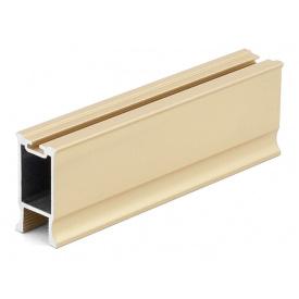 Профиль вертикальный закрытый с пазом под щетку Slider LINE мм 5300 золото