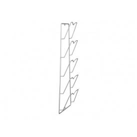 Полка навесная для крышек GIFF серый
