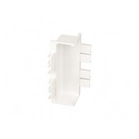 Угол внутренний 90* к C-образному профилю Gola Volpato Clap`n`FIT белый