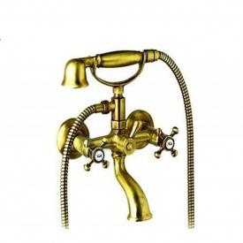 Смеситель для ванны Besco OTYLIA/AMELIA (бронза) ретро (NAVARA09405)