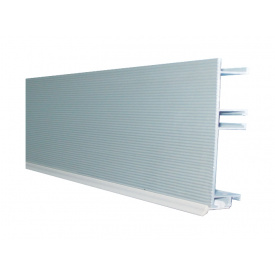Цокольна Планка GIFF мм 4000 мм 100 рифлений алюміній