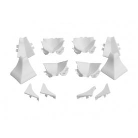 Набор фасонных элементов Rehau Белый Compact-line 91624
