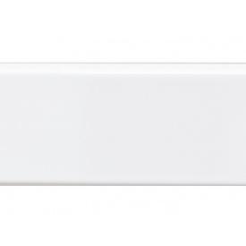 Плинтус VOLPATO белый глянец 16х26мм мм 4200