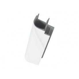 Кут до цоколя 90* Volpato мм 150 білий глянець
