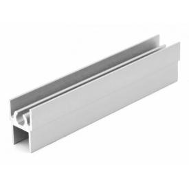 Горизонтальный профиль верхний Slider серебро мм 5000