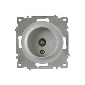 Розетка антенная TV, цвет серый (серия Florence) арт.1Е21101302