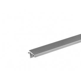 Профиль Gola L-образный в верхний модуль Volpato для ДСП 18 мм мм 4200 алюминий 80/G29