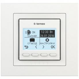 Терморегулятор для теплого пола terneo pro unic, белый