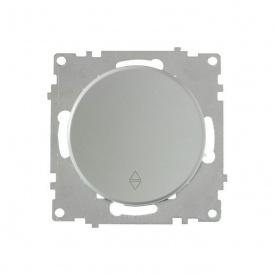 Переключатель одинарный, цвет серый (серия Florence) арт.1Е31401302