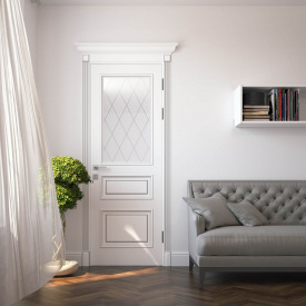 Двері RODOS Siena Rossi зі склом