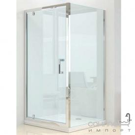 Душевая кабина Dusel A-516 100х100х190 профиль хром стекло прозрачное