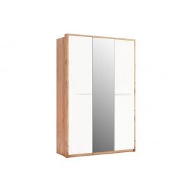 Шкаф трехдверный с зеркалами Глянец Ники