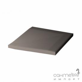 Плитка для душа переходной угловой элемент 10x10 RAKO Taurus Color 07 S Dark Grey Темно-Серый TTR 12007