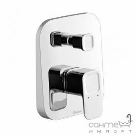 Скрытый смеситель для ванны/душа с переключателем Ravak Collection TD 061.00 X070068 хром