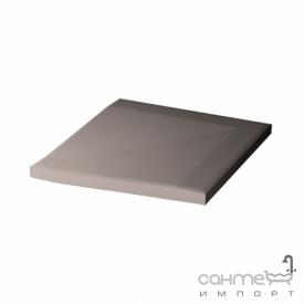Плитка для душа переходной угловой элемент 10x10 RAKO Taurus Color 06 S Light Grey Серый TTR 12006