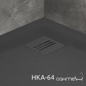 Решетка для душевого поддона Radaway HKA-64 антрацит