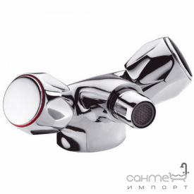 Змішувач для раковини з донним клапаном ABS pop-up Clever Distribucion Guayama 96548 Хром